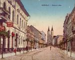 Five places in Miskolc nowadays and in the past